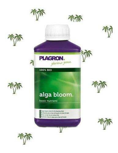 alga bloom plagron fertilizante flora 250ml - olivos grow