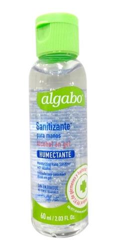 algabo alcohol en gel bactericida 60 ml - ciudad cotillón