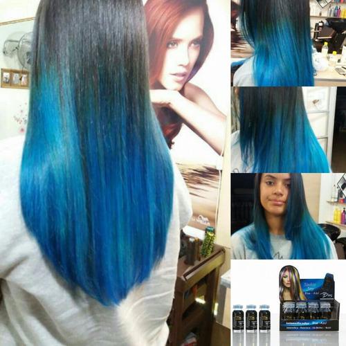 algaline joy - tonalizante e intensificador blue azul - cx12