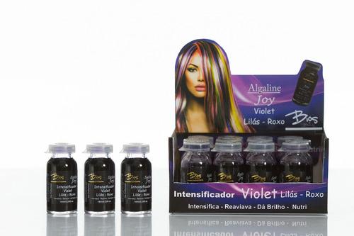 algaline joy - tonalizante e intensificador roxo - cx12