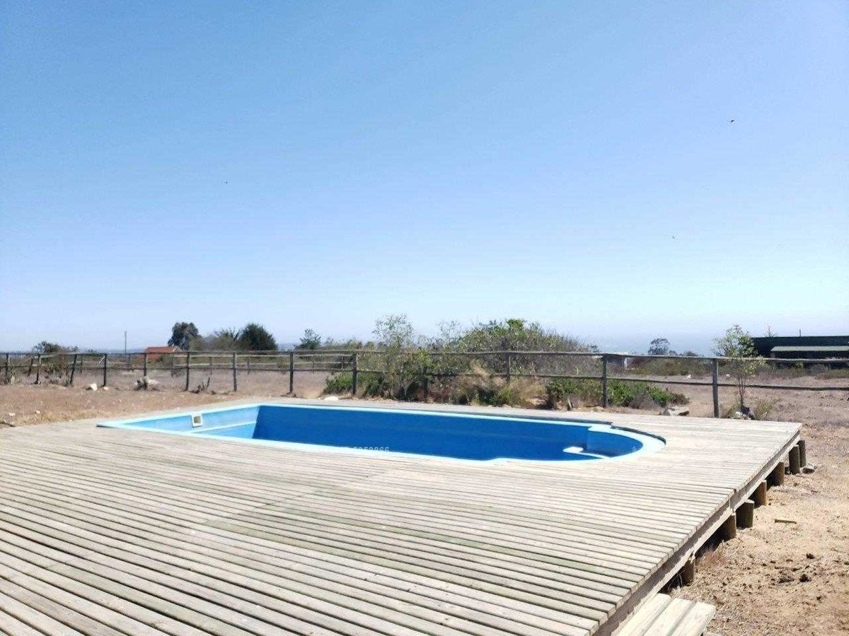 algarrobo parcela con 2 casas / piscina / pozo propio