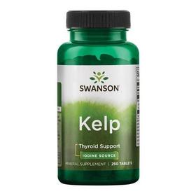 Algas Kelp, Fuente De Yodo, Tiroides, 225 Mcg 250 De Sw
