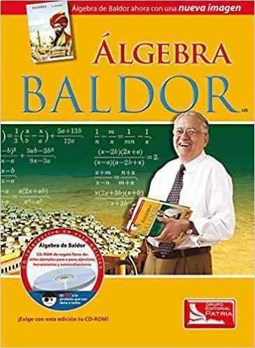 álgebra - aurelio baldor - grupo editorial patria