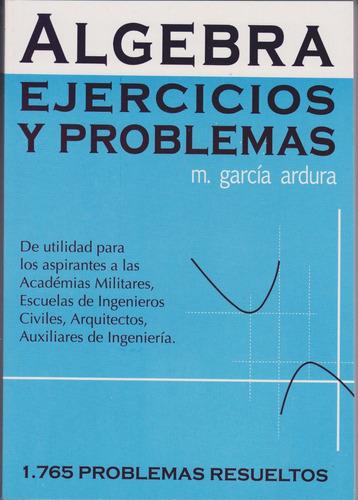 algebra de ardura 1765 problemas resueltos en oferta