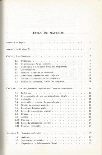álgebra lineal y programación lineal. j. acher.