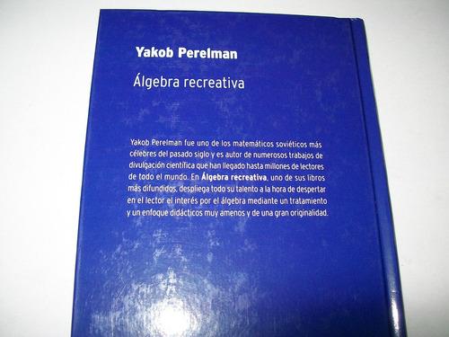 álgebra recreativa · yakob perelman