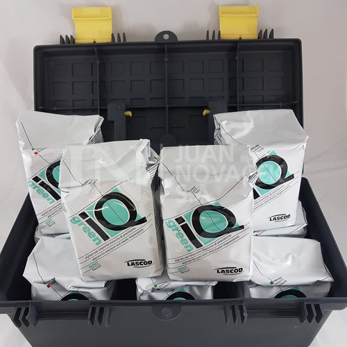 alginato iq dreen x 450 grs lascod x 10 bolsas incluye valij