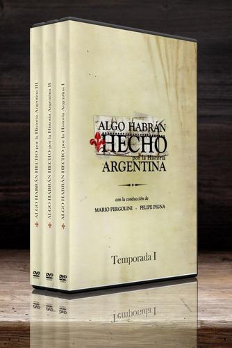 algo habran hecho por la historia argentina dvd