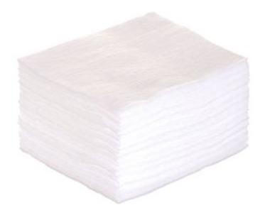algodão quadrado miniso