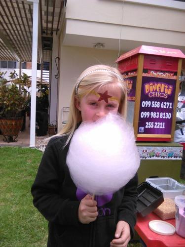 algodon de azucar,canguil,granizados,hot dog,fiestas infanti