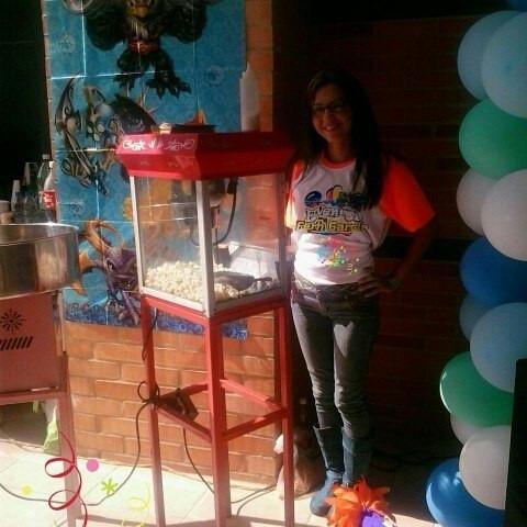 algodones dulces, cotufas, colchones, animacion pintacaritas