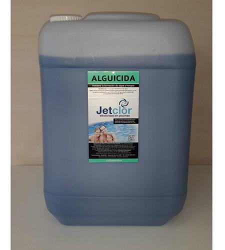 alguicida para piscinas jetclor por 25 litros