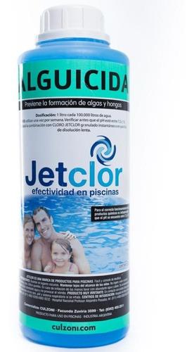 alguicida piscinas jetclor por 1 litro