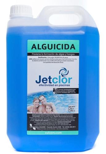 alguicida piscinas jetclor por 5 litros