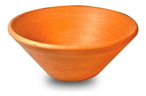 alguidar prato barro umbanda candomble 42cm