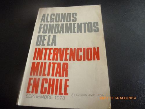 algunos fundamentos de la intervención militar en chile(564w