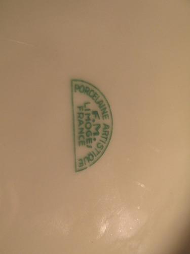 alhajero de porcelana francesa limoges