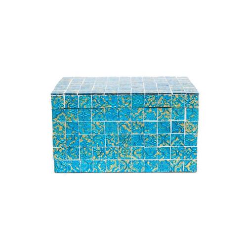 alhajero mosaico cristal organizador decoracion bm home