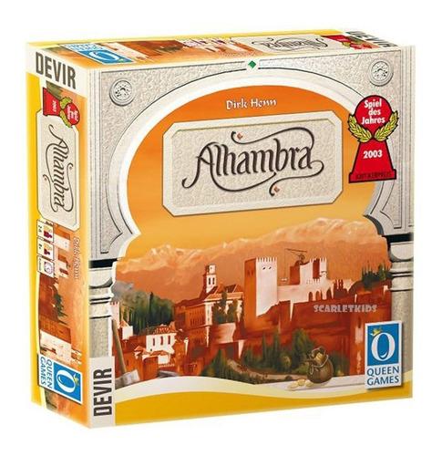 alhambra devir español juego de mesa scarlet kids
