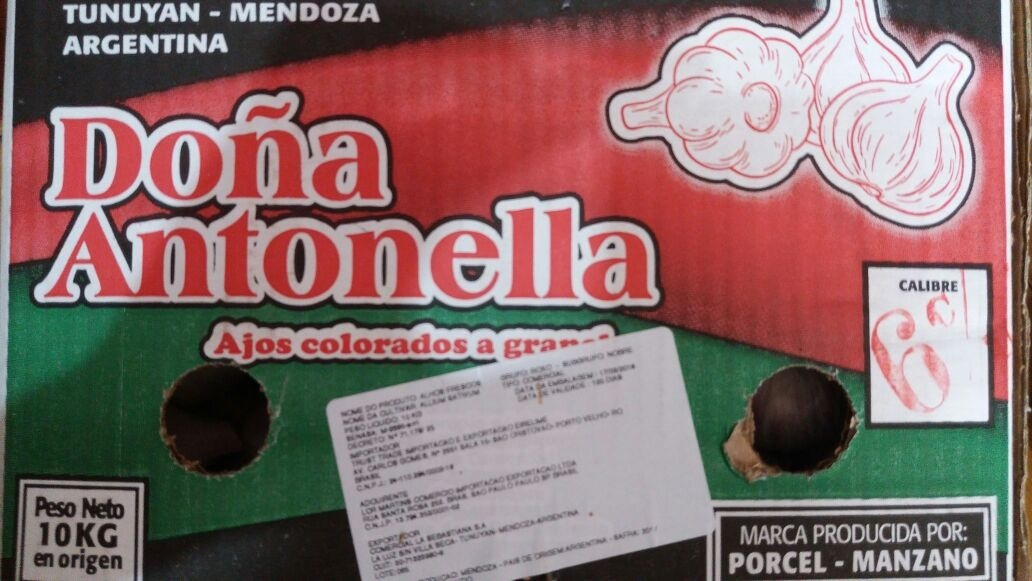 4b7feca3c Alho Roxo Argentino Fresco Para Revenda Ou Consumo - 5kg - R$ 140,00 ...