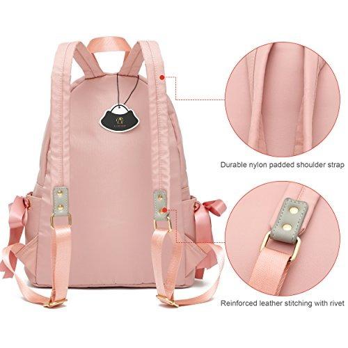 54ae592ee9f Ali Victory Basic Backpack Para Mujeres Fashion Girls Col ...