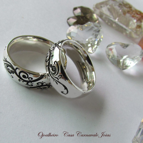 aliança amor de raiz em prata maciça ojoalheiro apaixonese