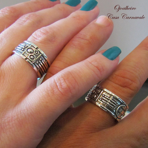 aliança anel star wars em prata maçiça ojoalheiro