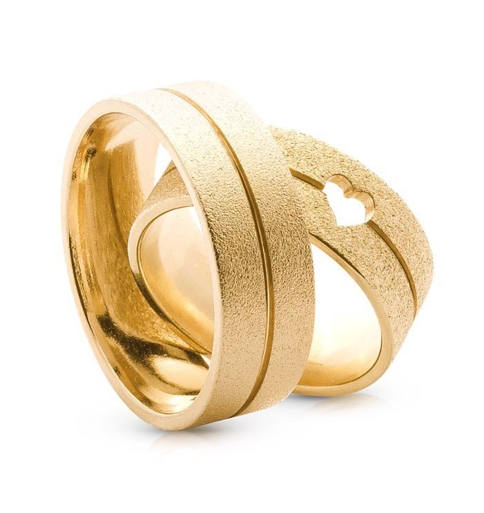 e72661b7a30 Aliança Casamento Folheada A Ouro 18k Gravação Grátis - R  69