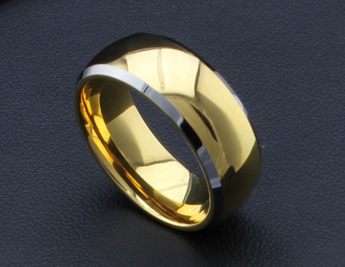 aliança casamento folheada ouro