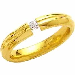 aliança de casamento abaulada trabalhada c diamantes al92 co