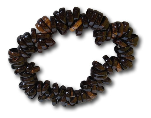 aliança de coco marrom cento ref: 5659