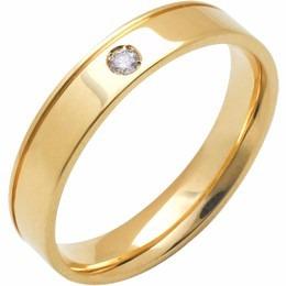 aliança de compromisso reta trab c diamantes al177 conft