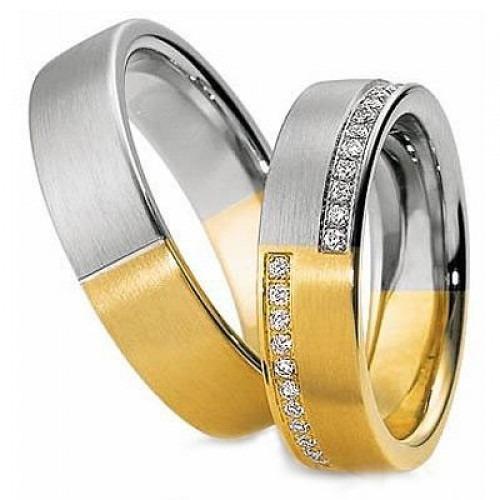 f4248e14dc03d Aliança De Ouro Casamento E Noivado São Paulo Oliver Joias - R  5.830