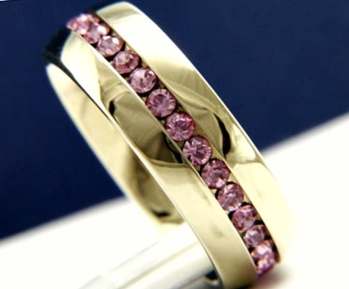 aliança feminina em ouro 18k 750 com rubi natural promoção