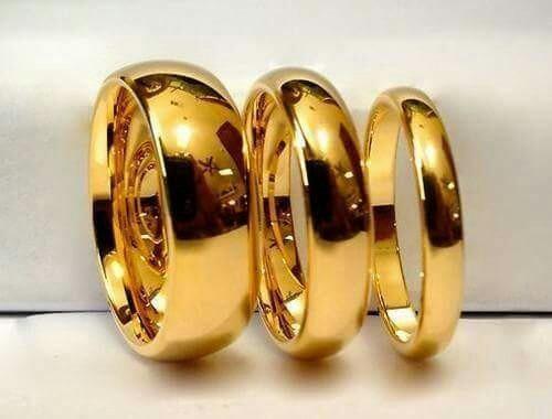 aliança indestrutível (superior ao ouro)