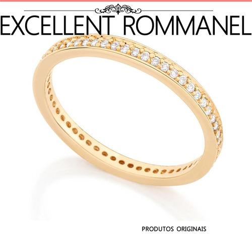 aliança rommanel anel noivado compromisso 511880