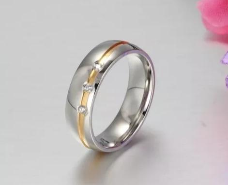 aliança unidade zirconia noivado casamento banhado prata
