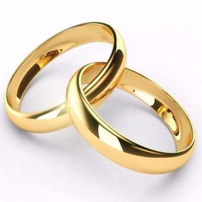 24282a983 Anel Aliança Ajustável Ao Seu Dedo Folheado A Ouro 18k - Alianças no ...