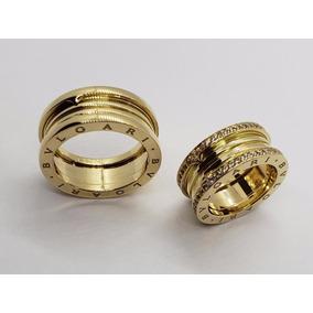 10ee8e12bed10 Aliança Bvlgari Em Ouro Amarelo 18k - Com Diamantes