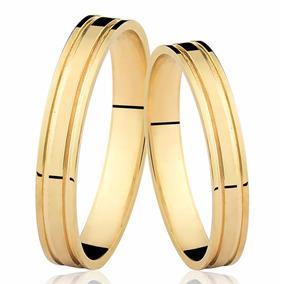 d0456de5ede Alianças de Casamento de Ouro no Mercado Livre Brasil