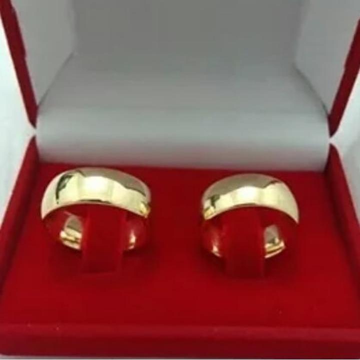 0e4f8f4b323 Par De Alianças Casamento Ouro 16k Linha Paris Promoção - R  1.400 ...