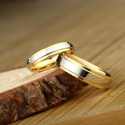 alianças compromisso ouro