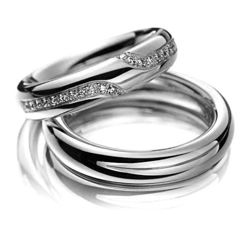 alianças de casamento 24 diamantes