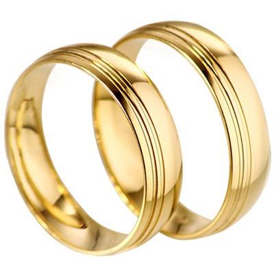 alianças feitos com moedas nobres cor de ouro par 8mm !