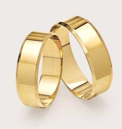 3d58d21bf3a9e Alianças Ouro 18k 4mm 4 Gramas Casamento Noivado Brinde! - R  899,90 em  Mercado Livre
