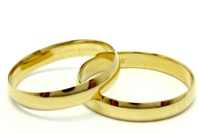 aa4f4a8022fc7 Par Alianças Ouro 18k 750 Clássica Econômicas Casamento 3gr - R  590 ...