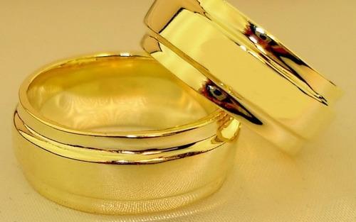 alianças para noivados e casamentos - frete grátis