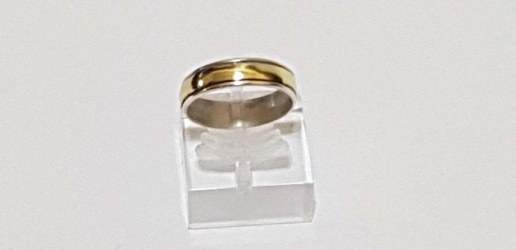 4f3666b696fc alianza anillo de plata y oro joyas bijouterie accesorios. Cargando zoom.