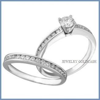 Alianza anillo y churumbela plata oro blanco envio gratis for Precio rodiar anillo oro blanco