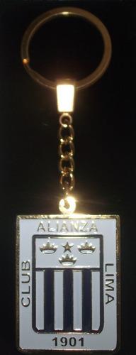 alianza lima, 120 años - llavero exclusivo de colección